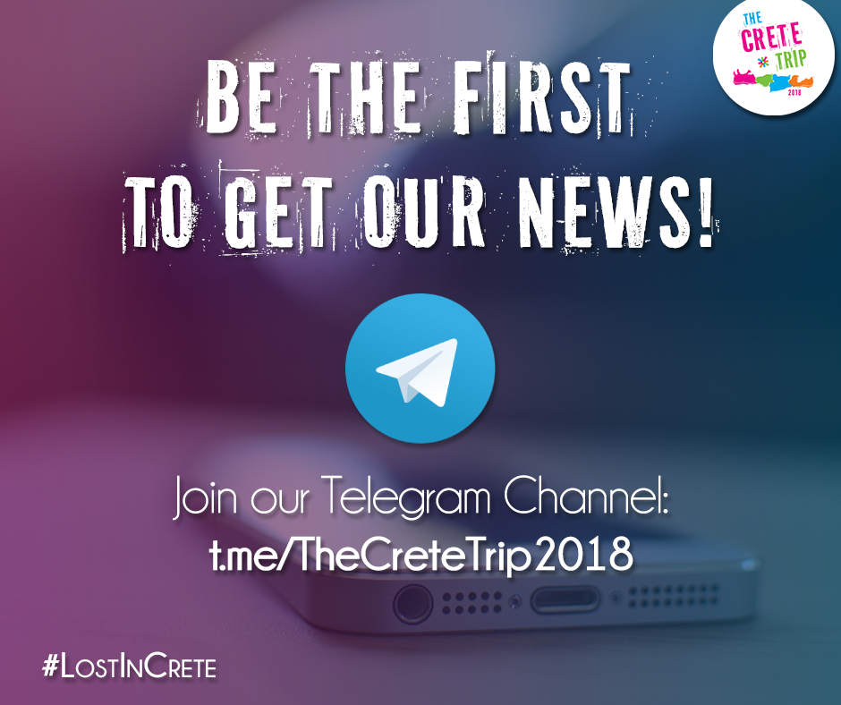 The crete trip 2018 telegram channel the crete trip by esn greece be the first to know the inside info announcements competitions and other surprises join the crete trip 2018 telegram channel ccuart Choice Image